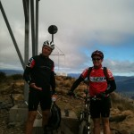James and Jeff on Mt Coree