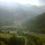 valais morning light