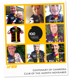 Centenary Club of the Month – November